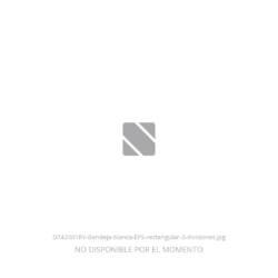 Bandeja blanca EPS rectangular 3 divisiones