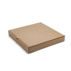 Caja para Pizza de Carton Marron 32x32x4.5