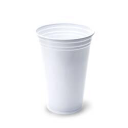 Vaso de PP blanco 330ml