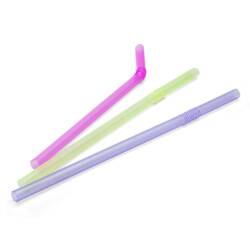 Sorbitos flexibles transparentes Neon